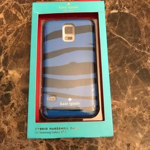 NIB KATE SPADE HYBRID HARDSHELL CASE FOR GALAXY S5